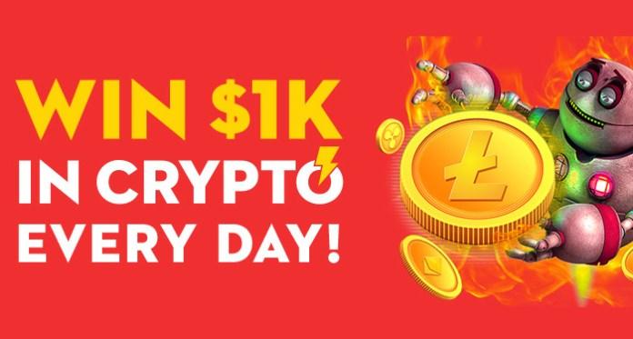 Menangkan 1K di Crypto Setiap Hari Saat Anda Bermain Slotslv Casino
