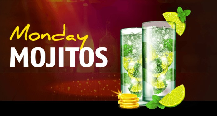 How Tasty Does a Monday Mojito w/Free Cash from Red Stag Sound?