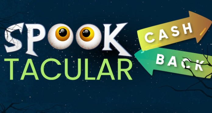 50% Spooktacular Cashback Offer from Vegas Crest Casino