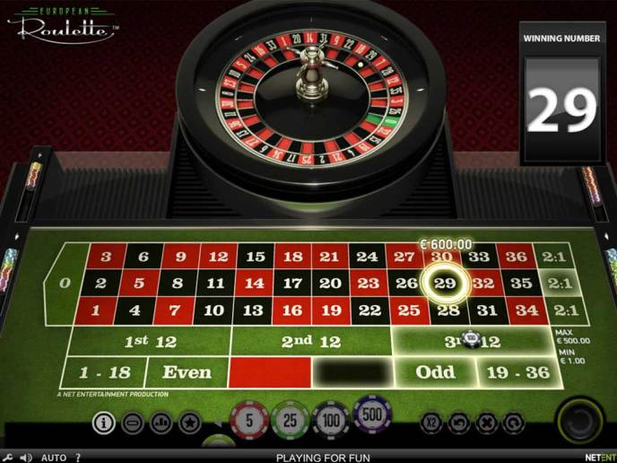 Roulette Variations - European, American and French Roulette
