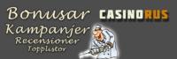 Casinorus har alla casinosajter på nätet!