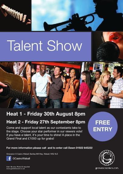 Talent Show 2013 walsall
