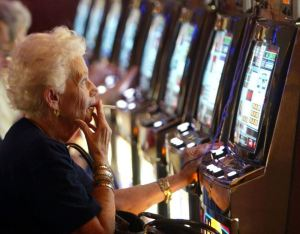 gambling at a slot reversed