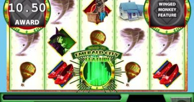 Screenshot image of the feature in Wizard of Oz slots