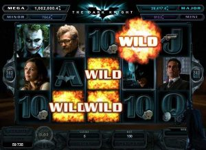 Screenshot image of Dark Knight slot progressive Jackpot game