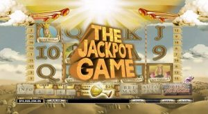 Screenshot image of Monty Spamalot slot The Jackpot Game