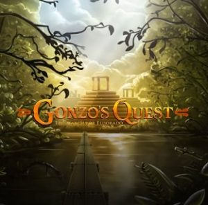 Gonzo's Quest slot game loading screen