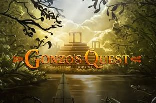 Screenshot image of Gonzo's Quest slot game loading screen