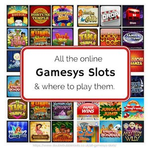 The top Gamesys sites to play slots and bingo online!