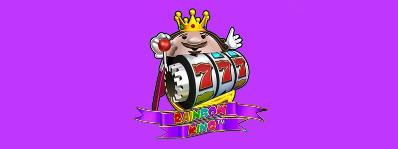 Header image of the Rainbow King slot review