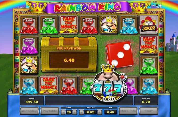 Rainbow King Slots Free