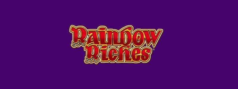 Header image of the Rainbow Riches slot game from Barcrest