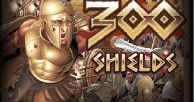 Screenshot image of 300 Shields slot game loading screen