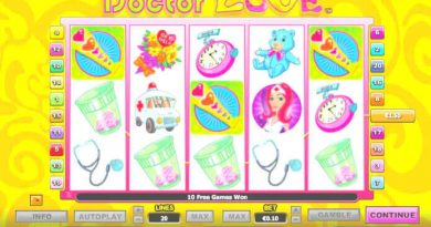 Screenshot image of Dr Love free spins Retriggered