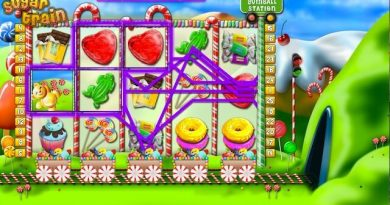 Screenshot image of Play Sugar Train slots online free