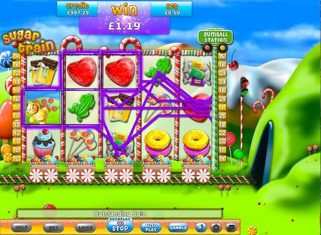 Sugar Train slots sites – A choice of casinos for UK players.