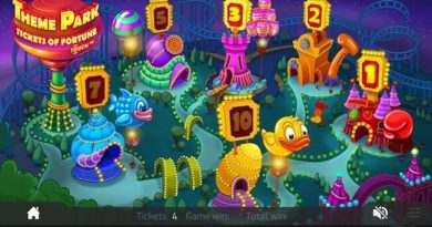 Screenshot image of Theme Park slot bonus games