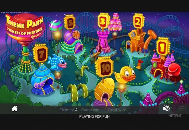 Theme Park slots sites – Casinos to trigger 6 bonus games from NetEnt.