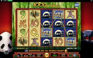 100 Pandas slot screenshot image