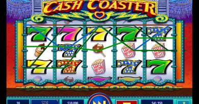 Cash Coaster slot screenshot image