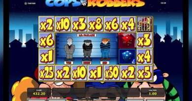 Cops and Robbers slot screenshot image