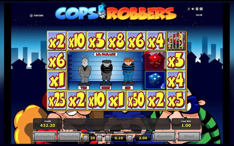 Cops and Robbers slots sites – Play online with a free bonus here!