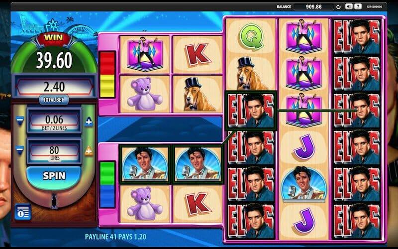 Elvis The King slot screenshot image