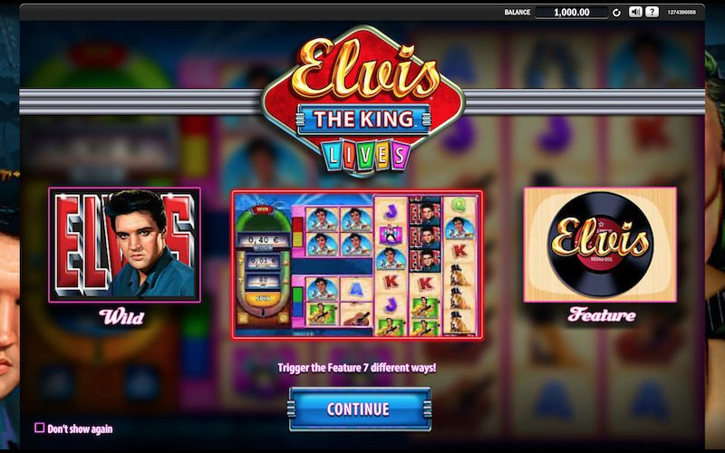 Elvis The King Lives slots sites – The king is back with free spins and stacked wilds