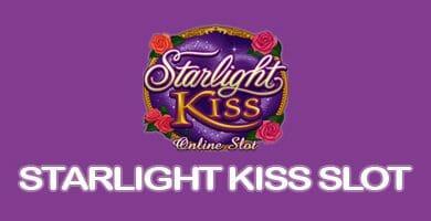 Header image of the Starlight kiss slot hd