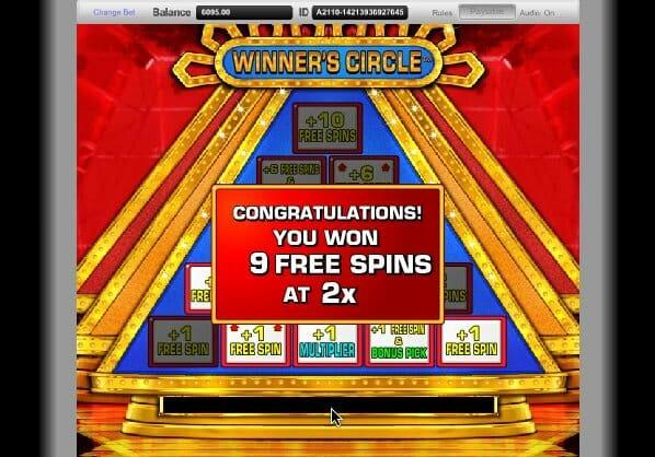 50000pyramid slot bonus won