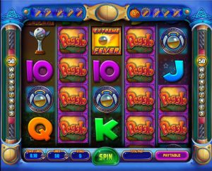screenshot image of peggle slots bonus game