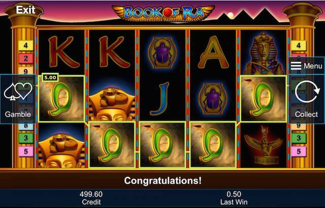 Book of Ra slots sites – A high-roller's game from Novomatic.