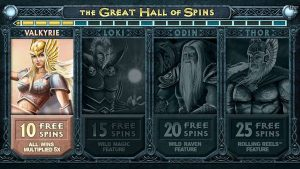 Screenshot image of thunderstruck 2 slots free spins