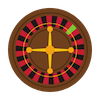 Online casino games icon graphic