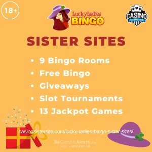 Lucky Ladies Bingo Sister Sites