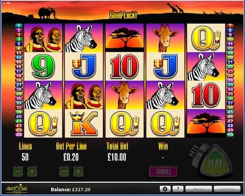 50 Lions slots sites - Play with 100% bonus + 100 free spins. 7