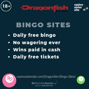 Dragonfish bingo sites image banner