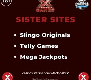 X Factor Sister Sites – Sites with Slingo Originals, Telly games and Mega Jackpots