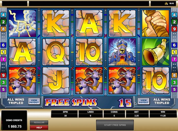 Thunderstruck slots sites - Top casinos with free spins + 100% bonus. 13