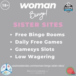 Woman Bingo Sister Sites – New Sites Like Woman Bingo!