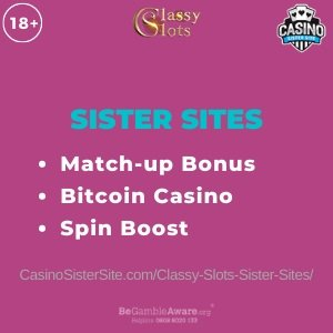 Casino Disco sister sites - Crypto slots with Spin Boost! 22
