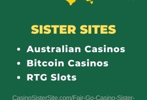 Fair Go Casino sister sites - 10 Australian casinos with Bitcoin and RTG games. 13