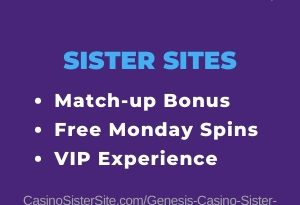 Genesis Casino sister sites - 9 casinos with free spins & VIP. 33