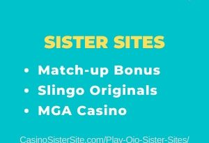 Play Ojo Sister Sites - 9 MGA sites with free bonus, Slingo Originals. 22