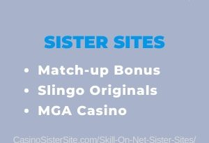 Skill On Net Sister Sites - Get 100 lucky spins & no wager. 14