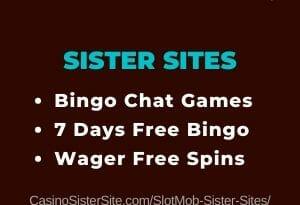 Slot Mob sister sites - Get 20 free spins no deposit! 14