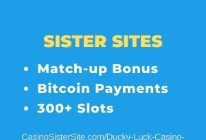 Ducky Luck Casino sister sites - Get 20 free spins no deposit & play 300+ slots. 24