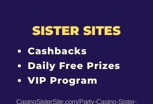 Party Casino sister sites – Win daily free prizes and cashbacks.