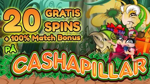 Få 20 gratis spins på Betway Casino og 100 kr. til nye kunder!