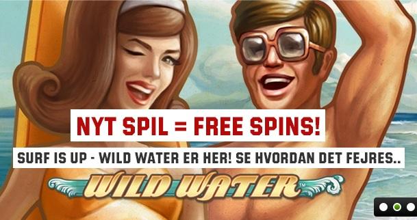 Gratisrunder på Unibet Casinos Wild Water